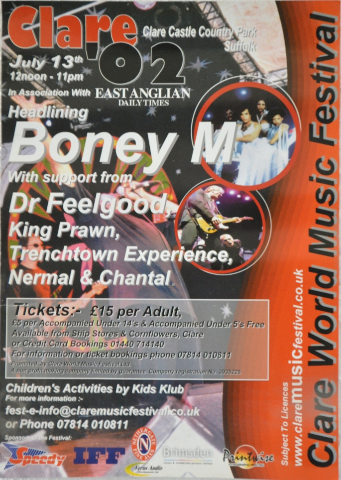 Boney M poster
