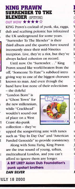 Kerrang! 12.7.2000 Surrender review_000001