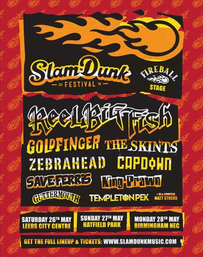 Slam Dunk 2018 poster