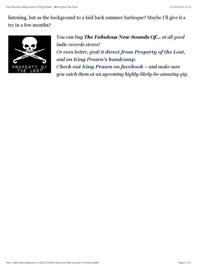 The Fabulous New Sounds Of King Prawn – Warrington Ska Punk (reader view)_000005